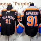 2016 Alternate New York Islanders 91 John Tavares Ice Winter Hockey Jerseys Purple