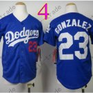 Dodgers Youth Jersey 23 Adrian Gonzalez Blue Kid Size S M L XL