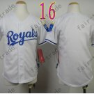 Dodgers Youth Jersey White Kid Size S M L XL