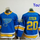 Youth St. Louis Blues #20 Alexander Steen 2017 Winter Classic Blue Kids  Hockey Jerseys Stitched