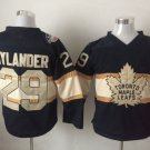 New Toronto Maple Leafs Ice Hockey Black 29 William Nylander Jerseys 100th Anniversary