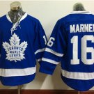 New Toronto Maple Leafs Ice Hockey Blue 16 Mitchell Marner Jerseys 100th Anniversary