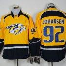 Nashville Predators #92 Johansen Yellow  Hockey Jerseys Stitched