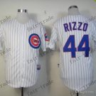44 Anthony Rizzo Baseball Jersey Rugby Jerseys Embroidery logos White 3