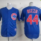 44 Anthony Rizzo Baseball Jersey Rugby Jerseys Embroidery logos Blue 1