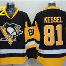 2016 Penguins Throwback Jerseys Pittsburgh  81 Phil Kessel black