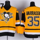 2016 Penguins Throwback Jerseys Pittsburgh  35 Tom Barrasso  Yellow