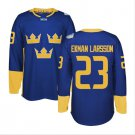 2016 World Cup Ice Hockey Sweden Jerseys  #23 Oliver Ekman-Larsson