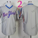 Jersey Vintage New York Mets Jerseys Gray Throwback