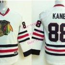 2016 Chicago #88 Patrick Kane white Youth Ice Hockey Jerseys Kids Boys Stitched Jersey style 1