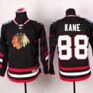 2016 Chicago #88 Patrick Kane Black Youth Ice Hockey Jerseys Kids Boys Stitched Jersey style 1