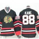 2016 Chicago #88 Patrick Kane Black Youth Ice Hockey Jerseys Kids Boys Stitched Jersey style 2