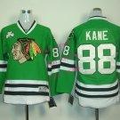 2016 Chicago #88 Patrick Kane Green Youth Ice Hockey Jerseys Kids Boys Stitched Jersey style 3