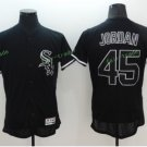 2017 Flexbase Stitched Chicago White Sox 45 Retro Black Pullover Baseball Jerseys Home Away Road S1