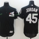 2017 Flexbase Stitched Chicago White Sox 45 Retro Black Pullover Baseball Jerseys Home Away Road S3
