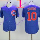 chicago cubs#10 Ron Santo 2016 Baseball Jersey Rugby Jerseys Blue