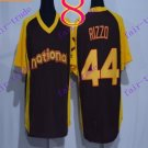 chicago cubs  #44 Anthony Rizzo 2016 Baseball Jersey Rugby Jerseys Black
