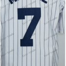 New York  #7 mickey mantle White 2015 Baseball Jersey Rugby Jerseys Authentic Stitched