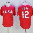 Texas Rangers 12 Rougned Odor Jersey Flexbase Cool Base Rougned Odor Baseball Jerseys Red Style 2
