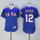 Texas Rangers 12 Rougned Odor Jersey Flexbase Cool Base Rougned Odor Baseball Jerseys Blue Style 1