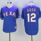 Texas Rangers 12 Rougned Odor Jersey Flexbase Cool Base Rougned Odor Baseball Jerseys Blue Style 2