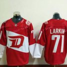 2016 Stadium Series Detroit Red Wings Hockey Jerseys Dylan Larkin Jersey Home Red 71 Dylan Larkin