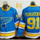 St. Louis Blues #91 Vladimir Tarasenko 2017 Hockey Jerseys Ice Winter Jersey All Stitched