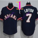 cleveland indians #7 kenny lofton navy 2016 Baseball Jersey Rugby Jerseys Authentic