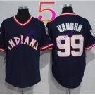 cleveland indians #99 Ricky Vaughn navy 2016 Baseball Jersey Rugby Jerseys Authentic