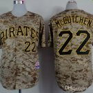 Pittsburgh Pirates #22 Andrew McCutchen 2015 Baseball Jersey  Authentic Stitched