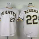 Pittsburgh Pirates #22 Andrew McCutchen 2015 Baseball Jersey  Authentic Stitched White Style 2