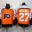 Philadelphia Flyers 1998 Ron Hextall Throwback Hockey Jerseys Orange Vintage #27 Ron Hextall