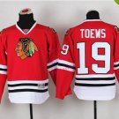 Chicago #19 Jonathan Toews Youth Ice Hockey Jerseys Kids Boys Stitched Jersey Red