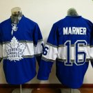100th leafs 2017 Draft #16 MARNER Blue 2017 winter classic Hockey Jerseys