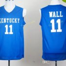 Kentucky Wildcats Jerseys 2017 College 11 John Wall Home Blue