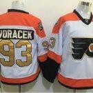 Philadelphia Flyers 50th Anniversary Jerseys 2016 Hockey 93 Voracek White Orange