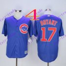 2016 Majestic Official Cool Base Stitched Chicago Cubs #17 Kris Bryant Blue Baseball Jerseys