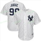 New York Yankees Baseball Jerseys 99 Aaron Judge Ruth Retirement Patch White