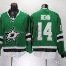 dallas stars #14 jamie benn 2015 Ice Winter Jersey Green Hockey Jerseys Authentic Stitched