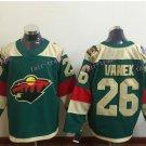 2016 Stadium Series Minnesota Wild Hockey Jerseys 26 Thomas vanek