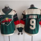 2016 Stadium Series Minnesota Wild Hockey Jerseys 9 Mikko Koivu
