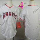 Youth Los Angeles Angels Jersey White Kid S M L XL