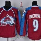 Duchene Ice Winter Jersey Purple Hockey Jerseys Authentic Stitched