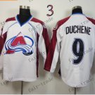 Duchene Ice Winter Jersey White Hockey Jerseys Authentic Stitched