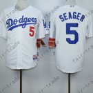 Corey Seager Jersey 5# Home Away White Los Angeles Dodgers Uniforms