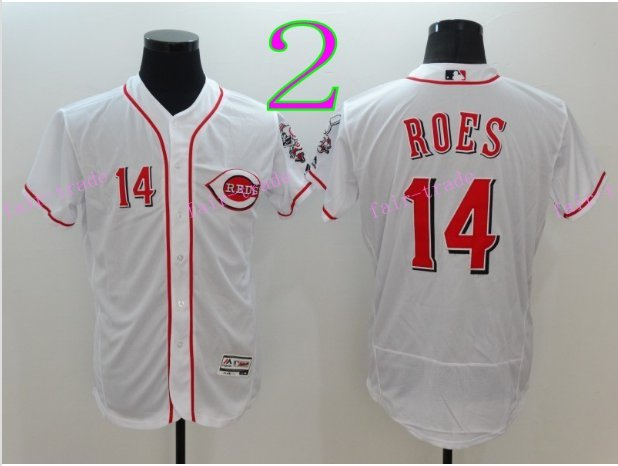 Cincinnati Reds 14 Pete Rose Flexbase Vintage Throwback Pullover White 1976 Cooperstown Jersey 1