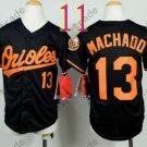 Baltimore Orioles Youth Jersey 13 Manny Machado Kid Black