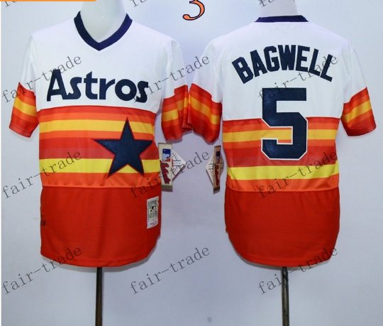 Houston Astros #5 Jeff Bagwell 2015 Baseball Jersey Authentic Stitched