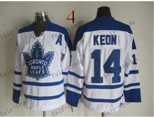 Toronto #14 Dave Keon Throwback Vintage Jersey ICE Hockey Jerseys Heritage Stitched