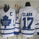 Toronto #17 Wendel Clark Throwback Vintage Jersey ICE Hockey Jerseys Heritage Stitched Style 2